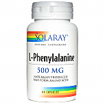 FENILALANINA 500MG 60CAP SOLARAY