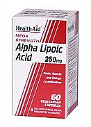 Ácido Alfa Lipoico 250 m HealthAid
