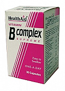 Complejo B 30Cáps HealthAid