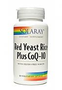 RED YEAST RICE PLUS Q10 60CAP SOLARAY