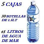 PACK 5 CAJAS 45 LT AGUA DE MAR 1.5LT LACTODUERO
