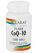 COENZIMA Q10 100MG 30CAP SOLARAY