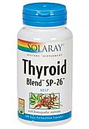 THYROID BLEND KELP 500MG SOLARAY