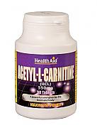 Acetil-L-Carnitina 550 mg HealthAid