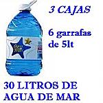 PACK 3 CAJAS 30LT AGUA DE MAR 5LT LACTODUERO