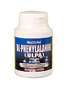 DLPA (DL-Fenilalanina) 500mg 30Comp HealthAid