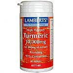 CURCUMA TURMERIC 10,000MG 60CAP LAMBERTS
