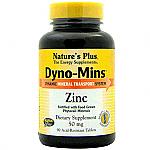 DYNOMINS ZINC 60COMP NATURE´S PLUS