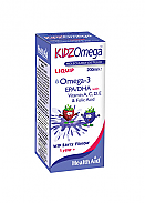 KidzOmega™ líquido 200 ml HealthAid