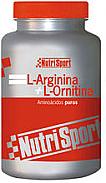 ARGININA+ORNITINA 100CAP NUTRISPORT